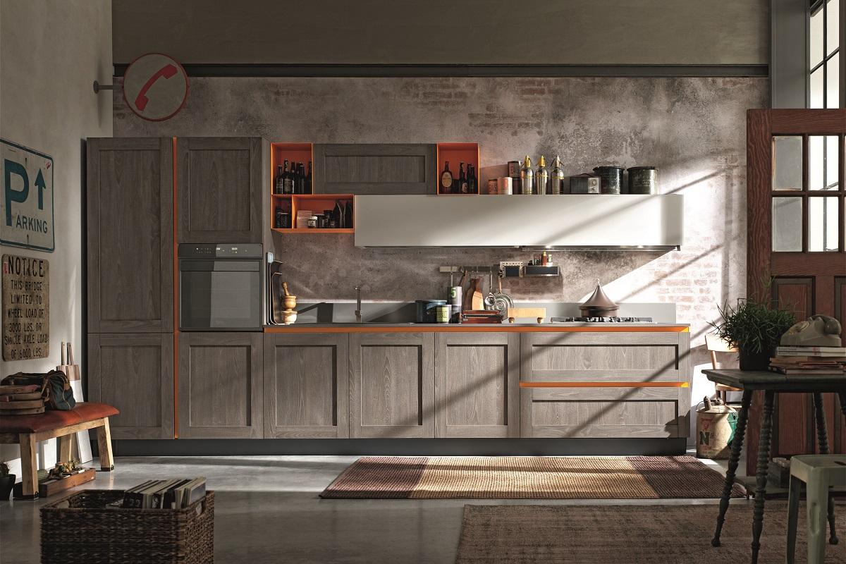 Cucine componibili in stile classico e contemporaneo gruppo gradi - Arredamenti vintage casa ...