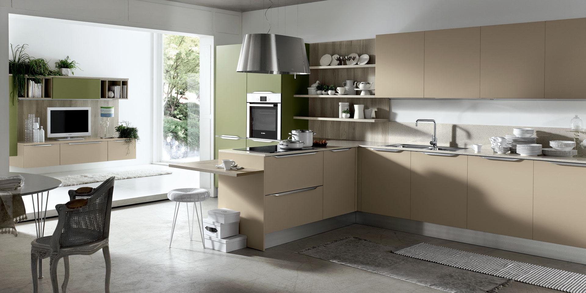 Cucine componibili in stile classico e contemporaneo gruppo gradi arredamenti - Arredamenti moderni cucine ...