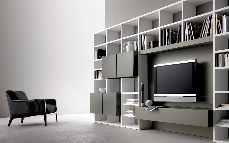 Stunning libreria salotto e soggiorno pictures design for Libreria salotto e soggiorno