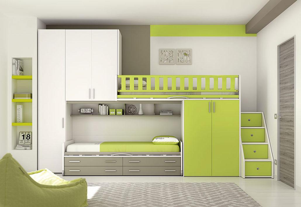 Camerette per ragazzi e camere per bambinigruppo gradi for Camere per single arredamento
